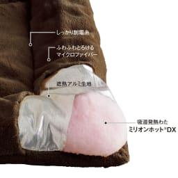 【ディノス限定販売】ヒートループ(R)DX ぬくぬく敷きパッド