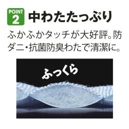 速乾・消臭アクアジョブ(R)パッドシーツ レギュラータイプ ふかふかタッチが大好評!防ダニ・抗菌防臭わたを使用しています。