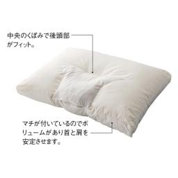 寝る前にマッサージ気分 ネックリラックスピロー 普通判 首元にはヒノキキューブ入り。