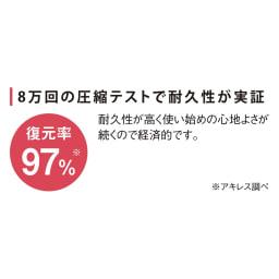【アキレス×dinos】2層式縦ゾーンマットレス 20cmタイプ