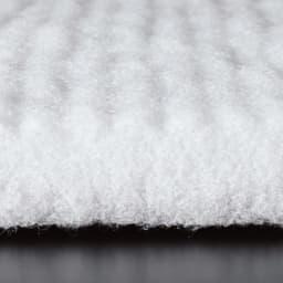 ヘタったマットレスにこの1枚!寝心地改善 大きなサイズの魔法の敷きマット(ファミリーサイズ) タテ繊維が身体をサポート 反発力に優れた特殊な縦構造の繊維が全身を心地よくサポート。
