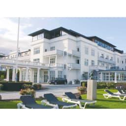 デンマーク製フォスフレイクス安眠枕と綿100%カバー デンマークのホテル『クアホテル・スコーツヴォーグ』で使用されています。
