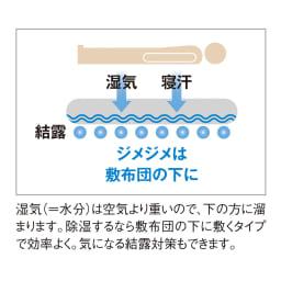 調湿くん(R)MAX「除湿マット」 マットのみ 除湿するなら敷布団の下に敷くタイプで効率よく