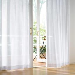 透け感アップで使いやすく!新多機能レースカーテン 200cm幅(1枚)