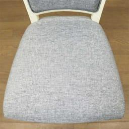 BLANC/ブランエレガントラインシリーズ テーブル3点セット(ダイニングテーブル・幅80cm+チェア2脚組)