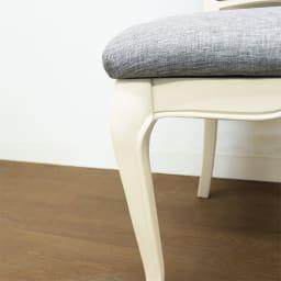 BLANC/ブランエレガントラインシリーズ テーブル5点セット(ダイニングテーブル・幅135cm+チェア2脚組×2)