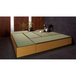 ユニット畳シリーズ 1.5畳 高さ45cm ※写真は8畳セット・高さ31cmタイプです。