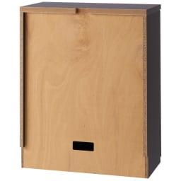ダイニングテーブルから見やすいハイタイプテレビシリーズ 薄型キャビネット2枚扉 幅59.5cm (背面)