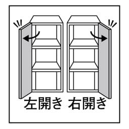 天然木調 リビング壁面収納シリーズ 収納庫 扉タイプ 幅29cm 幅29cmタイプは扉の開きを選べます。右開き/左開きのいずれかをご指定ください。