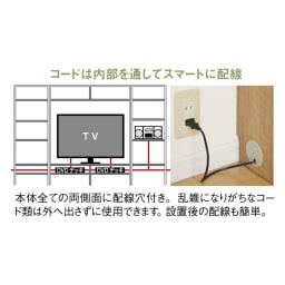 天然木調 リビング壁面収納シリーズ テレビ台 ミドルタイプ 幅89.5cm
