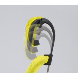 ハイバックメッシュオフィスチェア 【10段階調整】ヘッドレスト位置も調整してベストポジションに。