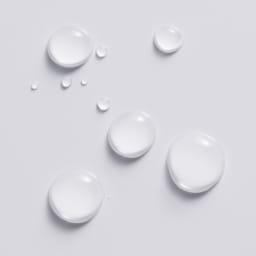 シンプルデスクシリーズ 薄型デスク 幅150cm 水をはじき汚れのつきにくいポリエステル化粧合板のデスク天板。