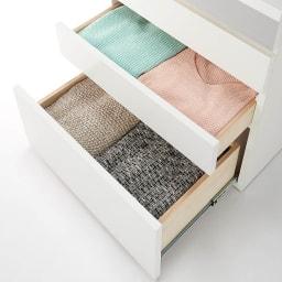 モダンブックライブラリー チェストタイプ 幅60cm 引き出しには洋服をしまって衣類チェストとして使用しても。
