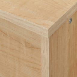 【天井突っ張り】引き戸収納付きブックシェルフ 幅120cm (イ)ナチュラル