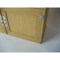 【本格派の着物収納】総桐着物収納ユニットタンス 上台扉タイプ 高さ45cm