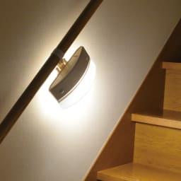 人感センサー付きもてなしライト (エ)ダークグレー(薄型) ・明暗人感センサー ・選べる点灯モード(センサー/常時/明るさ/消灯)