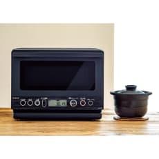土鍋調理と上手に解凍ができる電子レンジ [先着200名様 レビューを書いて特典付き] 土鍋付電子レンジ KRD-182D/K
