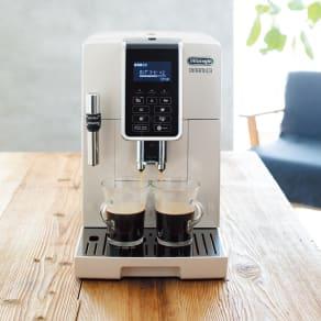 特典コーヒー豆付き DeLonghi/デロンギ ディナミカ コンパクト全自動コーヒーマシン 写真