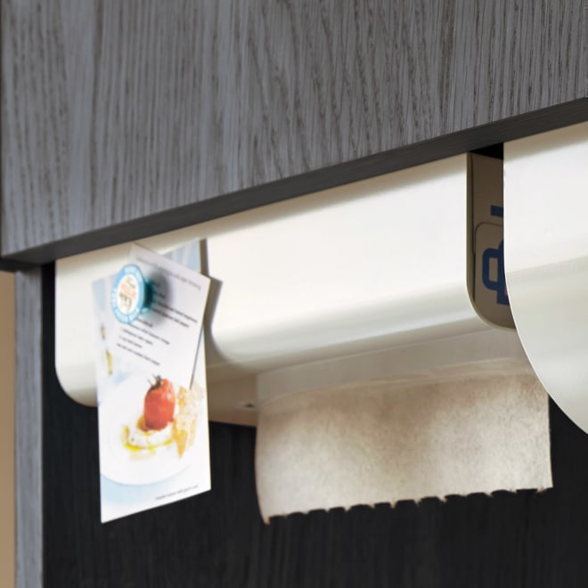 UCHIFIT ウチフィット 吊戸棚下のキッチンペーパーホルダー ボックスタイプ用 マグネットは付属しません。