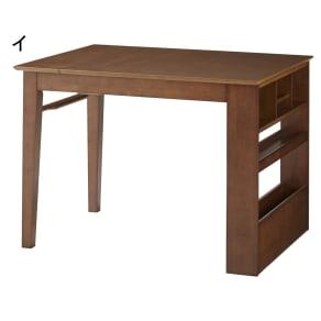 伸長式ダイニングシリーズ 伸長テーブル 小 写真