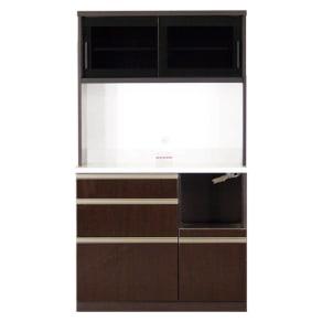 高機能 モダンシックキッチン キッチンボード 幅100奥行51高さ178cm 写真