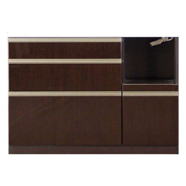 高機能 モダンシックキッチン キッチンカウンター 幅120奥行45高さ85cm お届けの商品はこちらになります。