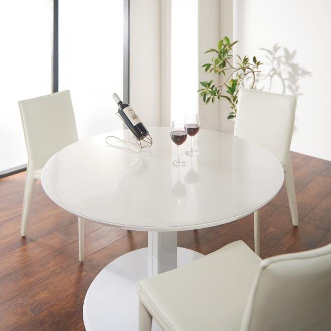 アキレス 高機能テーブルマット 幅120cm(オーダーカット) ご希望通りの形やサイズが叶うオーダーカットも大人気。ご自宅のテーブルに合わせられます。