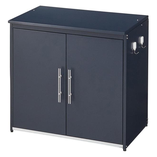 モダン2面開閉ダスト収納庫 幅74.5cm(容量170L) お届けの商品です。