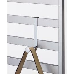 壁面ディスプレイハンガー用 追加L字フック5個組 L字フックは好きな場所に設置可能。