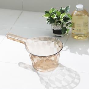 アクリル製 湯手桶 写真