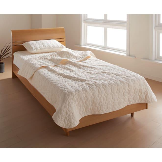 パシーマ(R)EXプラス 無地タイプ お得なセット(シングル) (イ)アイボリー パシーマ(R)尽くしで眠る幸せをお得なセットで! ※写真は掛け敷き枕カバー3点セットです。