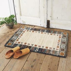 約60×90cm(エジプト製ウィルトン織りマット〈ラピス〉) 写真