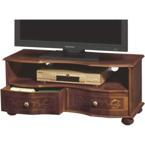 イタリア製象がん収納家具 テレビボード幅87cm 写真