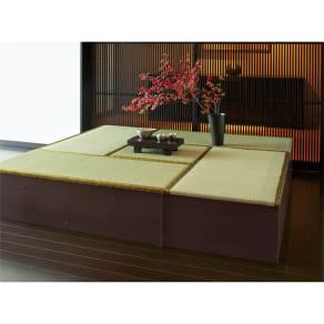 ユニット畳シリーズ お得なセット 4.5畳セット 幅180奥行180cm 高さ31cm 写真