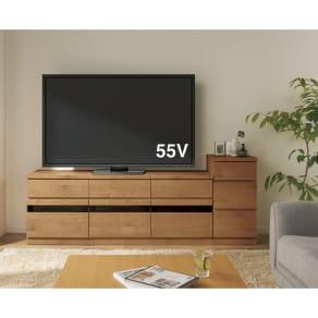 天然木調テレビ台シリーズ チェスト 幅38高さ75.5cm 写真