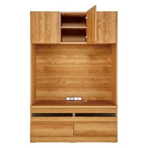 天然木調 リビング壁面収納シリーズ テレビ台 ミドルタイプ 幅121cm 写真