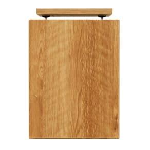 天然木調リビング壁面収納シリーズ オーダー対応突っ張り式上置き(1cm単位) 幅29cm・高さ26~59cm 写真