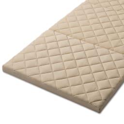 3サイズから選べる!二段ベッド用洗えるカバーの三つ折りマットレス バランスタイプ 吸湿速乾性のある生地を使用。