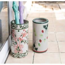 陶器の傘立て