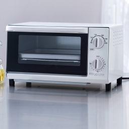 温度調節機能付きオーブントースター 90~230℃の温度調節機能付き。