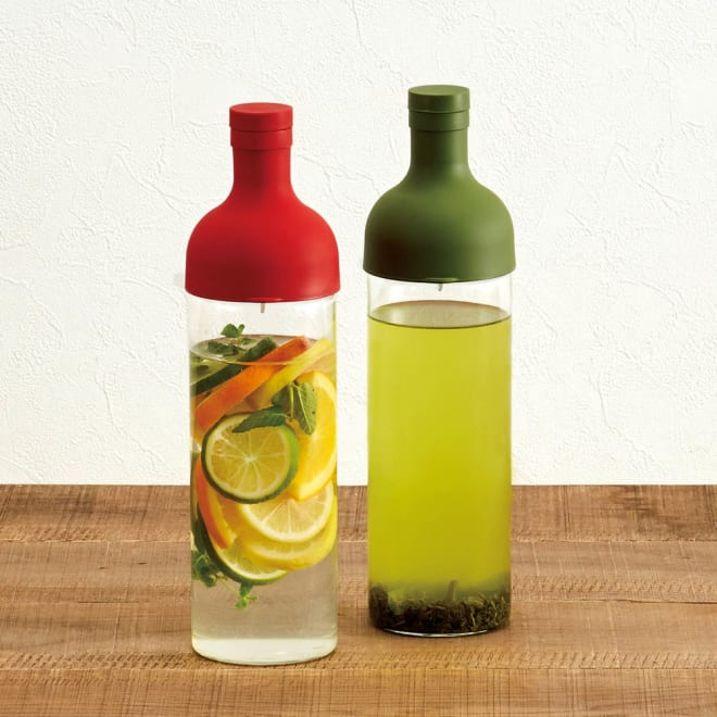 HARIO/ハリオ フィルターインボトル 2色組 2色セット。
