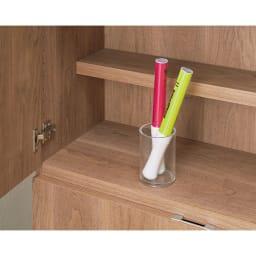 想いを集める 推し活グッズ収納庫  扉 ロー 幅60cm 扉部分も可動します。こまごまとしたものなどを。