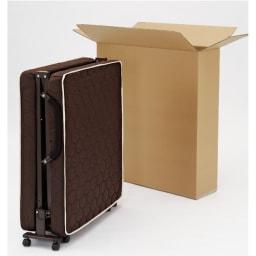 開梱してすぐ使える![組立不要]低反発ダブルリクライニング電動ベッド 面倒な組立は不要。梱包をとけばすぐに使えます。