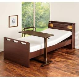 昇降テーブル ベッドやソファ、立ち仕事など様々なシーンでご使用になれます。