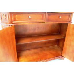 イタリアン家具シリーズ 象がんサイドボードキャビネット・幅124cm