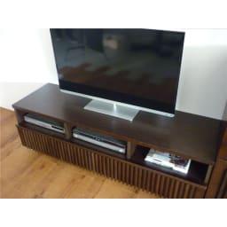 和モダン 格子リビング収納シリーズ テレビ台 幅150cm ※使用イメージ。