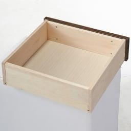 日本製 桐天然木水屋箪笥 キャビネットハイ・幅90cm
