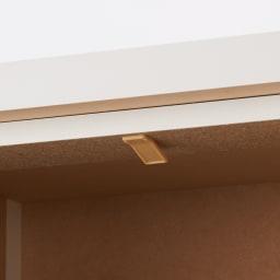 引き戸カウンター下収納庫 奥行29.5高さ70cmタイプ 引き出し・幅44.5cm 引き出しにストッパー付き。引出しの抜け落ちを軽減します。(最下段の深引き出しは除く。)