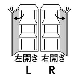 組立不要!幅1cm単位で62サイズから選べるすき間収納庫 ハイタイプ 幅31~45cm・奥行45cm ※上部扉収納部の右開き/左開きのいずれかをご指定ください。