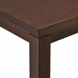 【長方形・小】幅90奥行60cm ダイニングこたつテーブル【高さ調節できます】 ナチュラル感のある仕上げです。